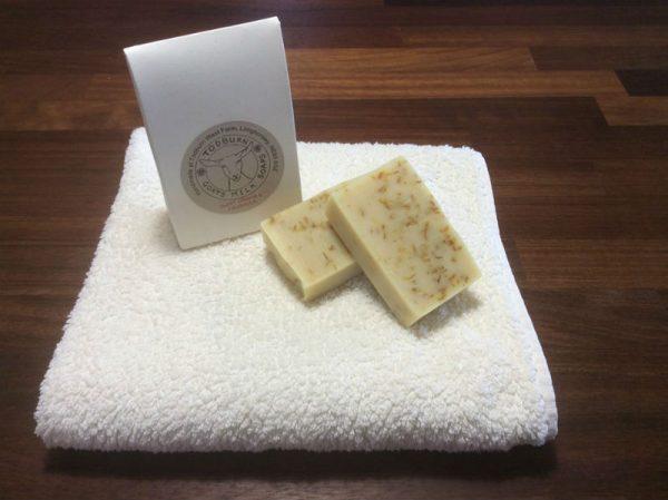 Todburn Soaps - Sweet Orange and Calendula Goats Milk Soap