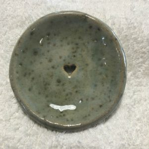 Speckled Green Shampoo Bar Dish